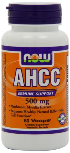 NOW AHCC 500mg Veg Capsules product image