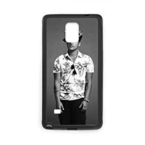 Custom Bruno Mars Design PC and TPU Phone Case Cover Laser Technology for SamSung Galaxy Note4