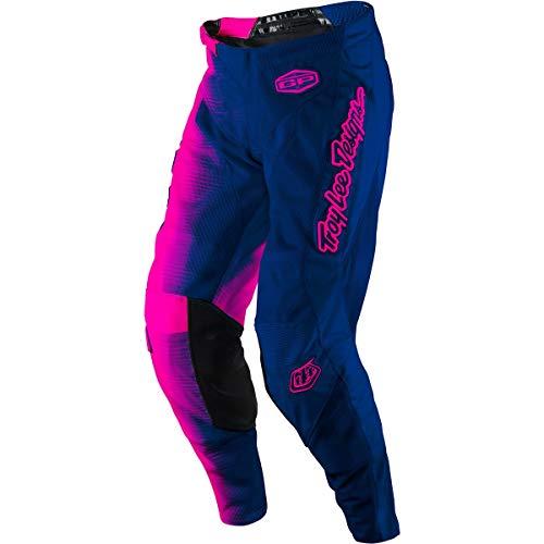 (2017 Troy Lee Designs Youth GP Air 50/50 Pants-Flo Pink/Navy-22)