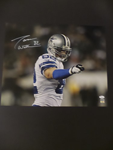 - Jason Witten Signed Dallas Cowboys Autographed 16x20 Photograph The Point