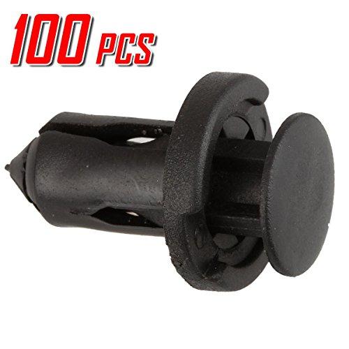 PartsSquare 100pcs Fender Liner Fastener Rivet Push Clips Retainer Replacement for Mazda RX-8 Protege 5 Protege MPV Millenia Miata Speed6 6 5 3 2 CX-9 CX-7 CX-5