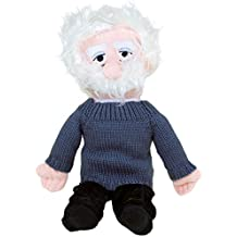 Albert Einstein Plush Doll - Little Thinkers by The Unemployed Philosophers Guild