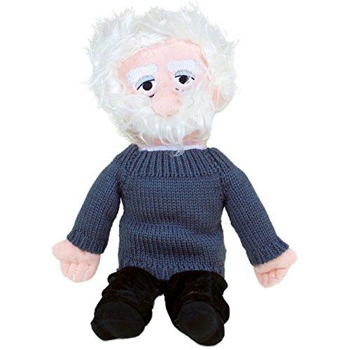 Albert Einstein Doll (Albert Einstein Plush Doll - Little Thinkers by The Unemployed Philosophers Guild)