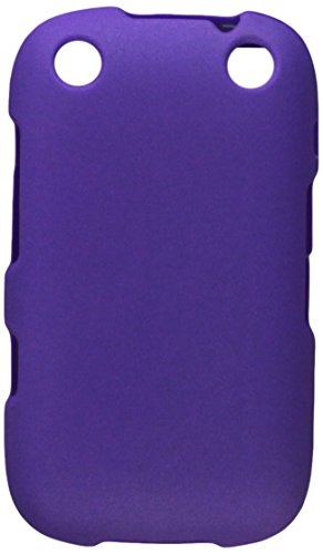 Reiko RPC10-BB9310PP Premium Rubberized Protective Cover for Blackberry Curve 9310 - Research In Motion - 1 Pack - Retail Packaging - Purple (Rubberized Blackberry Curve)