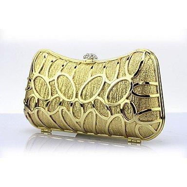 Pochettes SUNNY clutches KEY Gold et Métallique Cliquet Or Argent BPqSP5wFx