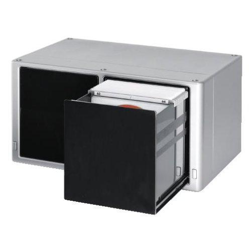 Hama CD-Box Magic Touch 120 Silber: Amazon.de: Elektronik