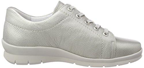 de Mujer para 015 Zapatos Perle Gris Brogue Xenia Cordones Semler YCHqEE