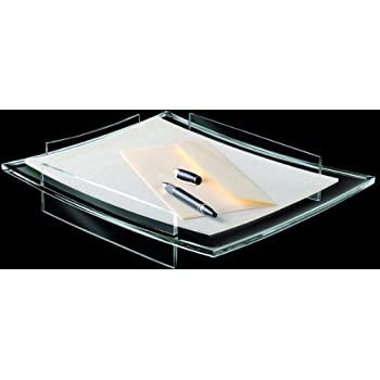 cep acrylight letter tray 132 x 108 x 24 inches clear acrylic cep2140011