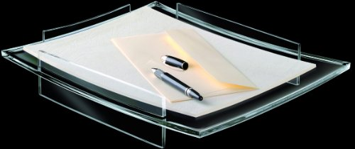 CEP AcryLight Letter Tray, 13.2 x 10.8 x 2.4 Inches, Clear Acrylic ()