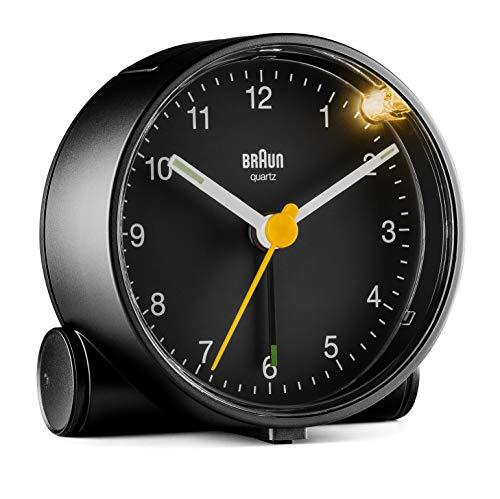 Braun Classic Analogue Alarm Clock - BC01B