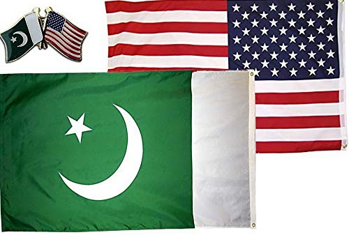 Hebel Wholesale Combo USA Pakistan Country 3x5 3вЂx5†Flag Friendship Lapel Pin | Model FLG - 946 (Best Way To Ship A Bike Cross Country)