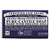 Dr. Bronners Bar Peppermint 5oz. Soap (2 Pack)