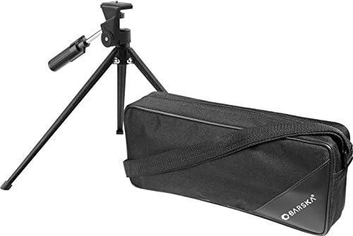 BARSKA 20-60 x 80mm Waterproof Spotting Scope Porro Prism BK-7 with Tripod and Case