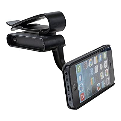 WizGear Universal Visor Magnetic Car Mount Holder, for Cell Phones with Fast Swift-Snap TM Technology, Magnetic Cell Phone Mount (Visor Mount)