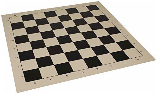 高品質の激安 Clubビニールロールアップチェスボードブラック& Buff B008MQP1TO – 2.375 Squares