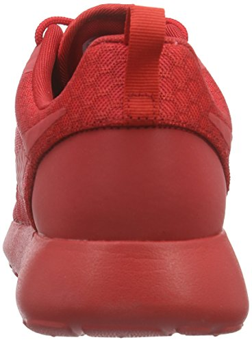 Nike Roshe One Hyp, Zapatillas de Running para Hombre, Gris Rojo / Negro (University Red / Unvrsty Red-Blk)