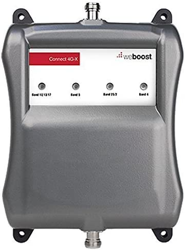 weBoost Connect 4G-X 471104R Cell Phone Signal Booster for Home and Office Can Cover up to 7500 sq ft or Large Home Renewed - 1 Year Manufacturer Warranty Enhance Your Signal up to 32x
