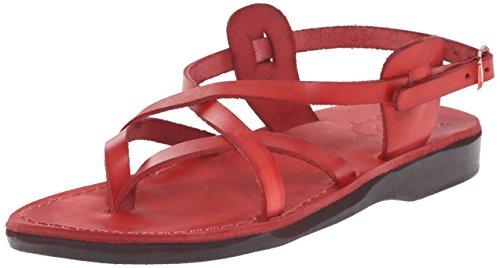 Jerusalem Sandals Womens Tamar Backle Tamar Backle Red