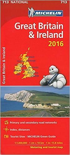 Lire un Great Britain & Ireland 2016 National Map 713 2016 pdf epub