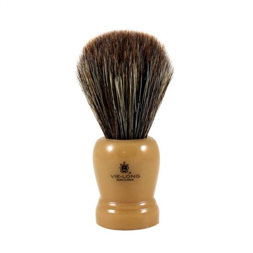 Horse Hair Shaving Brush with Cream Handle shave brush by Vie-Long