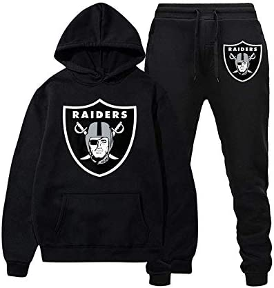 Football Sweatshirts Sweatpants Suit Fashion Hoodies and Long Pants Two Piece for Men and Women