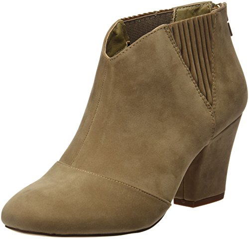 Maria Mare Damen Basic Calzado Señora Geschlossene Schuhe mit Absatz Braun (PEACH TAUPE)