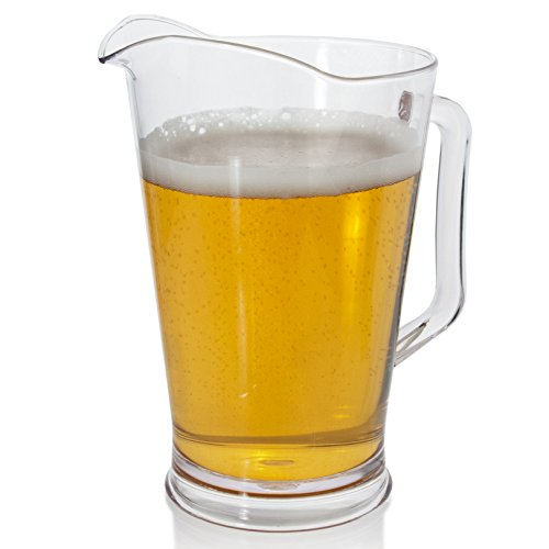 Restaurant Quality Plastic 64oz Water/Beer Pitcher