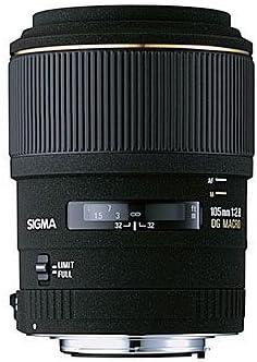 Sigma 105mm F2 8 Ex Dg Makro Objektiv Für Minolta Sony Kamera