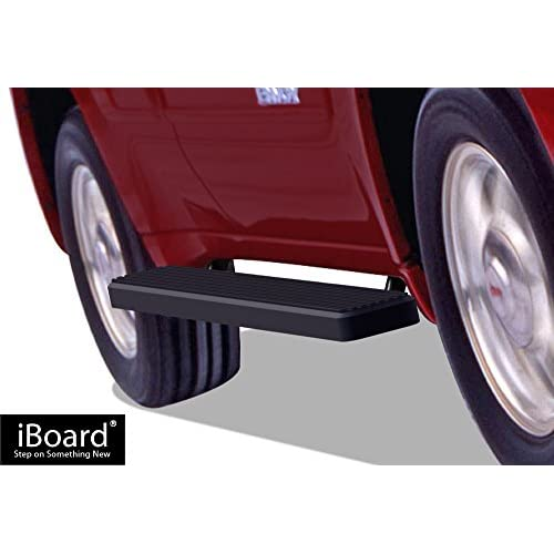 "APS 6"" Black iBoard Running Boards Fit 02-09 Chevy Trailblazer (02-06 GMC Envoy) for cheap"