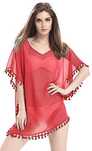91063403b Mooncolour Womens Stylish Chiffon Swimsuit