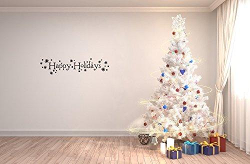 Lemon Peel Baseball (Christmas Wall Sticker Happy holidays Removable Stickers Peel And Stick For Kids Room Bedroom Nursery Wall Art Decal)
