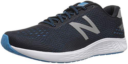 New Balance Women's Arishi Next V1 Fresh Foam Running Shoe, Black/Grey, 9.5 B US