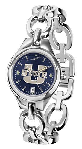 Linkswalker Mens Utah State University Aggies Eclipse Anochrome Watch
