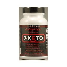 Healthy Origins 7-Keto 100 mg 120 Veg Caps
