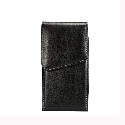Vertical Cell Phone Belt Holster Case Smartphone Pouch with Swivel Belt Clip for Motorola Moto G7 G6 Z4 Z3 Z2 Force Z…