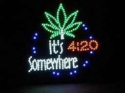 Marijuana It\'s 4:20 Somewhere Large 19\