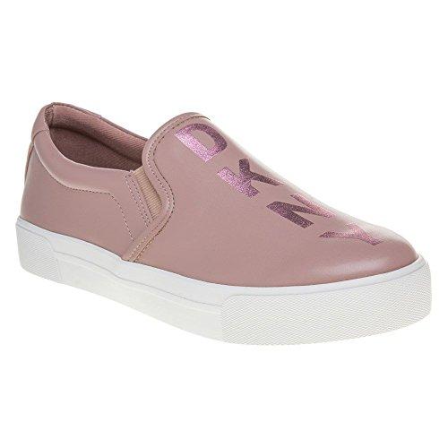 Dkny Bess Grafische Dames Sneakers Roze