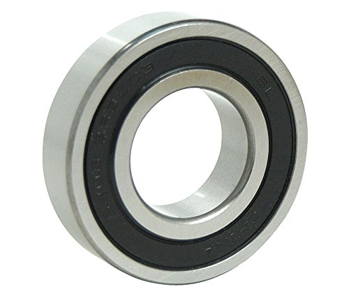 6204-2RS Sealed Bearings 20x47x14 Ball Bearing / Pre-Lubricated-500 Bearings by BC Precision