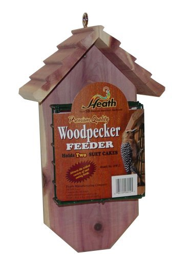Heath Outdoor Products SFW-2 Woodpecker Chalet- Cedar