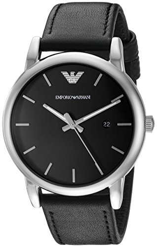 Emporio Armani AR1692 Luigi Classic Leather Men's Watches (Armani Watch Men Leather)
