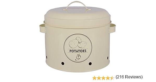 Esscherts Design C2070 - Lata de metal, diseño de patata: Amazon ...