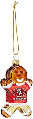 Boelter Brands NFL San Francisco 49ers Gingerbread Ornament
