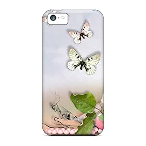 BFy5370KPAT Dreams Of Birds Awesome High Quality Iphone 5c Case Skin