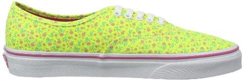 Varevogne U Autentisk (vasket) Sort Vvoe4jt Unisex-erwachsene Sneaker Gelb ((ditsy Floral)) qhv8mS4T