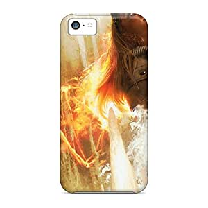 Flexible Tpu Back Case Cover For Iphone 5c - Magic The Purifying Fire