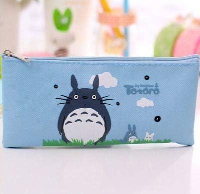 Bureze - Estuche de tela para lápices, diseño de Totoro: Amazon.es: Oficina y papelería