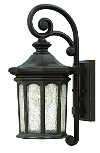 Hinkley 1600OZ Traditional One Light Wall Mount from Raley collection in Bronze/Darkfinish,