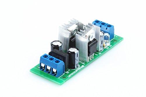 (KNACRO LM7812 + LM7912 Dual Voltage Regulator Three-Terminal Regulator Power Supply Module 12V Dual Voltage Regulator with Rectifier Bridge )