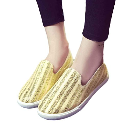 Pointed hollow out breathable flat sandals women gold - 2
