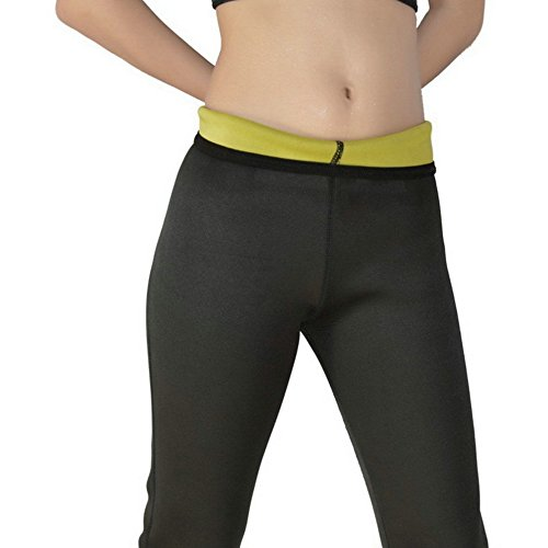 f3948db161 Healtheveryday®Hot Body Shapers Stretch Neoprene Sports Pants Neoprene  Slimming Slim Waist Pants Yoga Pants